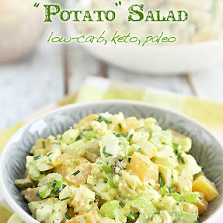 "Low-carb ""Potato"" Salad"