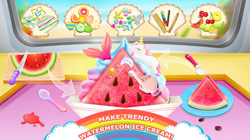 Code Triche Unicorn Chef: Summer Ice Foods - Cooking Games APK MOD screenshots 5