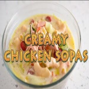 Creamy chicken sopas pinoy food recipe video android apps on creamy chicken sopas pinoy food recipe video forumfinder Images