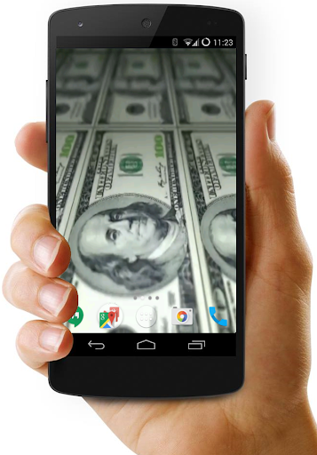 3D Money Video Live Wallpaper