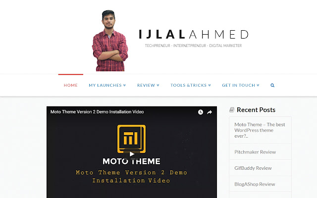 Personal Blog of Ijlal Ahmed