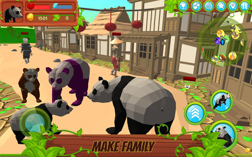 Panda Simulator  3D u2013 Animal Game modavailable screenshots 3