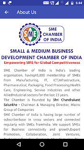 SME CHAMBER - INDIA- screenshot thumbnail