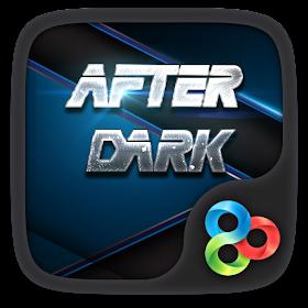 After Dark GO Launcher Theme