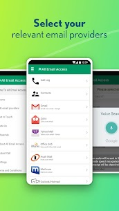 All Email Access with call screening Apk Latest Version Download For Android 2