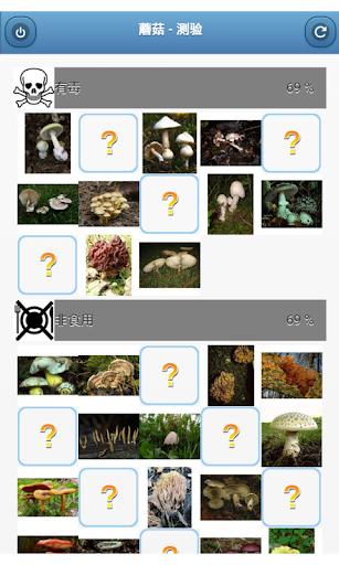 蘑菇 - 测验