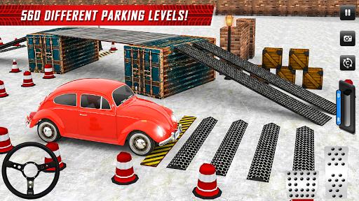 Classic Car Parking Real Driving Test apktram screenshots 4