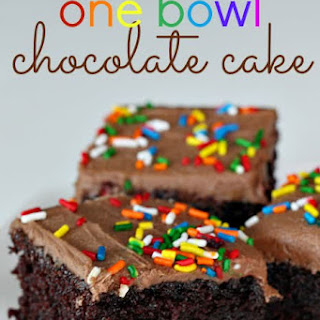One Bowl Chocolate Cake (Made From Scratch!) Recipe