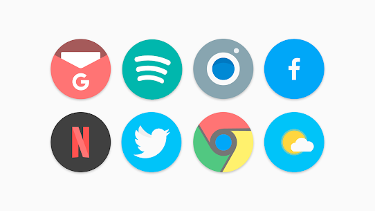 Flat Pie – Icon Pack 1.1 Patched 1