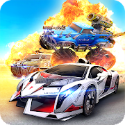 Overload – Multiplayer Cars Battle Shooting Firing MOD APK aka APK MOD 1.9.3 (God Mode)