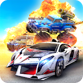 Overload - Multiplayer Cars Battle Shooting Firing