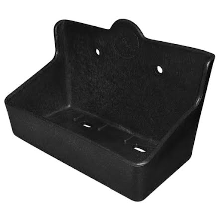 Saltstenshållare Box Svart Plast för 2 Kg saltsten