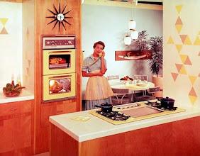 Photo: Amerykańska kuchnia z lat 50-ych XX wieku (3)