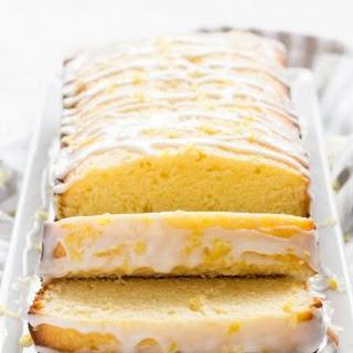 Lemon Pound Cake.