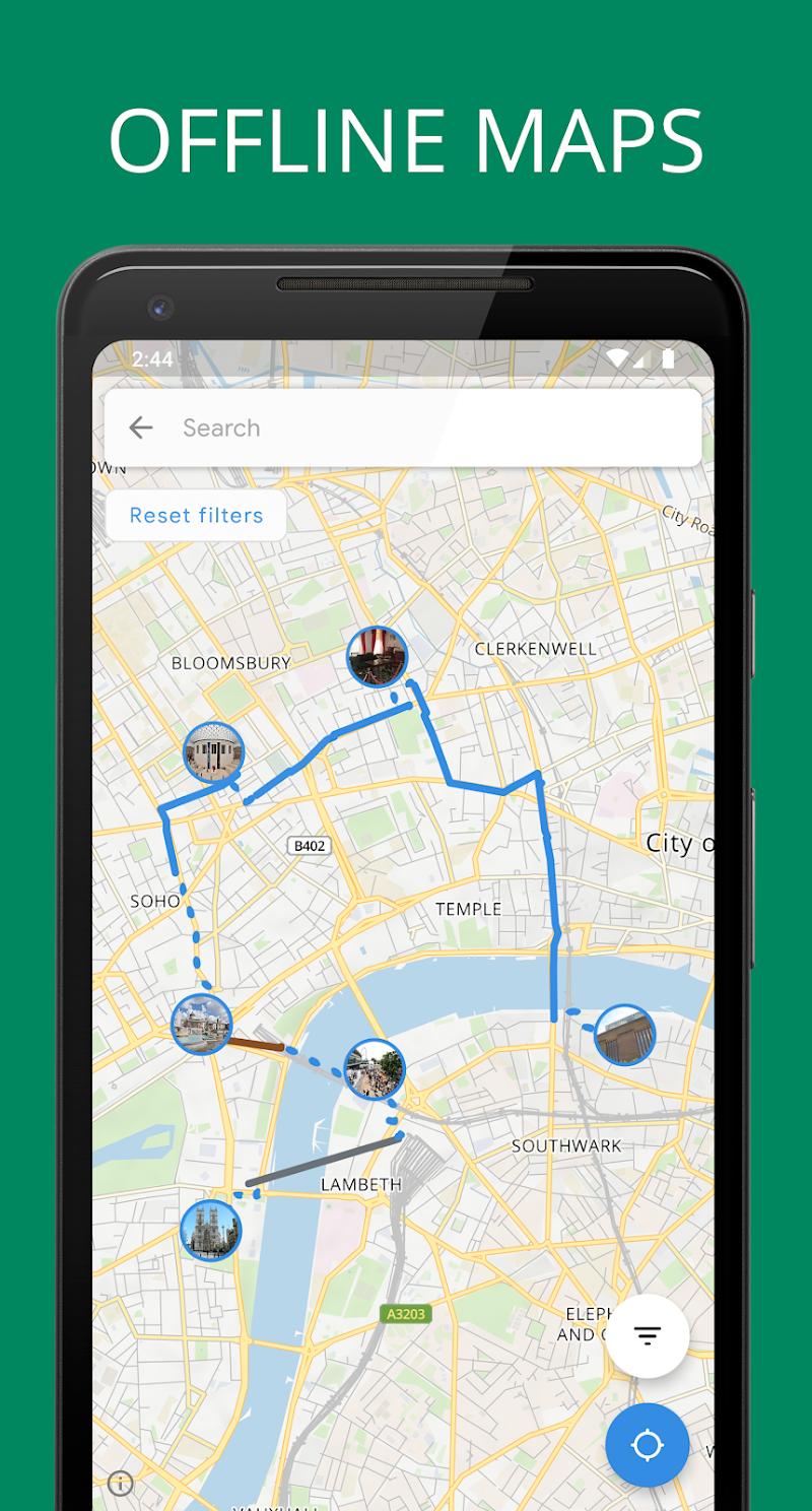Sygic Travel Maps Offline & Trip Planner Screenshot 4
