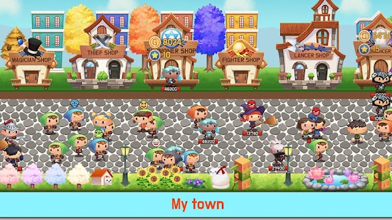 Tap Town Premium (idle RPG) - Magic Screenshot