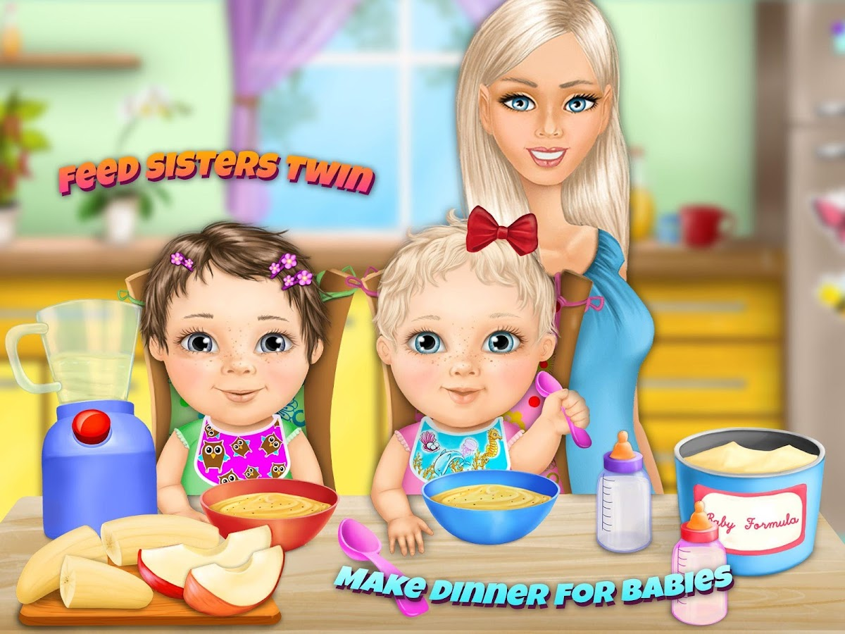 sweet baby girl twin care full android apps on google play sweet baby girl twin care full screenshot