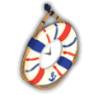 浮き輪時計