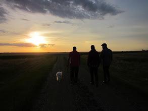 Photo: A sunset walk