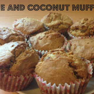 Coconut and Lime Marmalade Muffins