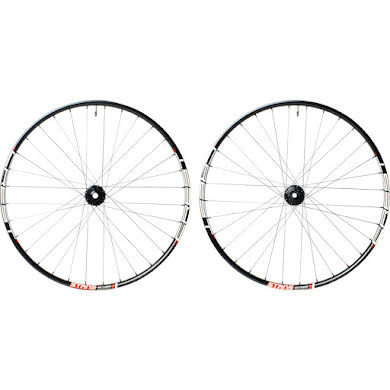 """Stans No Tubes Crest MK3 Wheelset: 24"""" 15x100mm Front, 12x142mm Rear, 6-Bolt Disc, Shimano Freehub"""