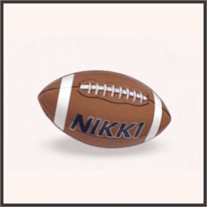 ニキのアメフトボール
