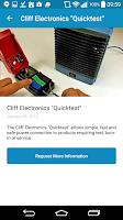 Screenshot of Electronics News
