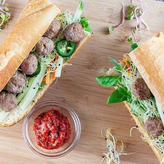 Mini Meatballs Sandwich Recipe