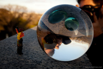 Photo: Through the Orb