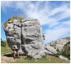 """Photo: Al lado de la piedra: """" El Chocho """"."""