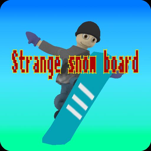 体育竞技のStrange snow board LOGO-記事Game