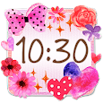 Cute Clock Widget 2 【FREE】 icon