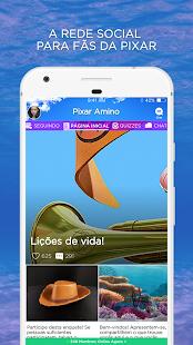 Animação Amino para Pixar em Português - náhled