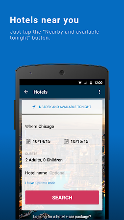 Orbitz - Flights, Hotels, Cars 6.2.1 screenshot 237013
