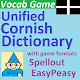 Vocab Game Unified Cornish Dictionary (game)
