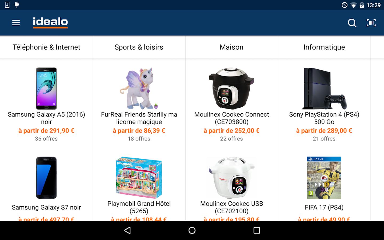 Comparateur de prix applications android sur - Comparateur de prix playstation 4 ...