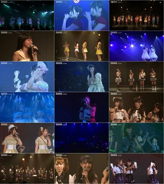 "(LIVE)(公演) HKT48 チームKIV ""シアターの女神"" 植木南央の生誕祭 140822"