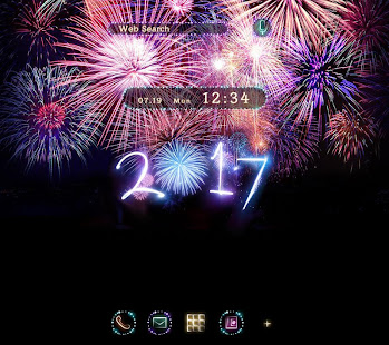 Wallpaper Happy New Year 2017