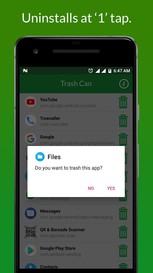 Trash Can - Delete Unwanted Apps- screenshot
