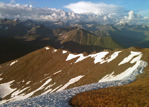 Photo: Sunset: Hatch Peak (Talkeetna Range)