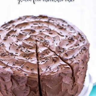 Best Ever Gluten Free Chocolate Cake.