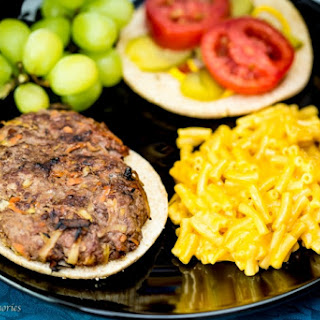 Hidden Vegetable Stuffed Hamburgers Recipe