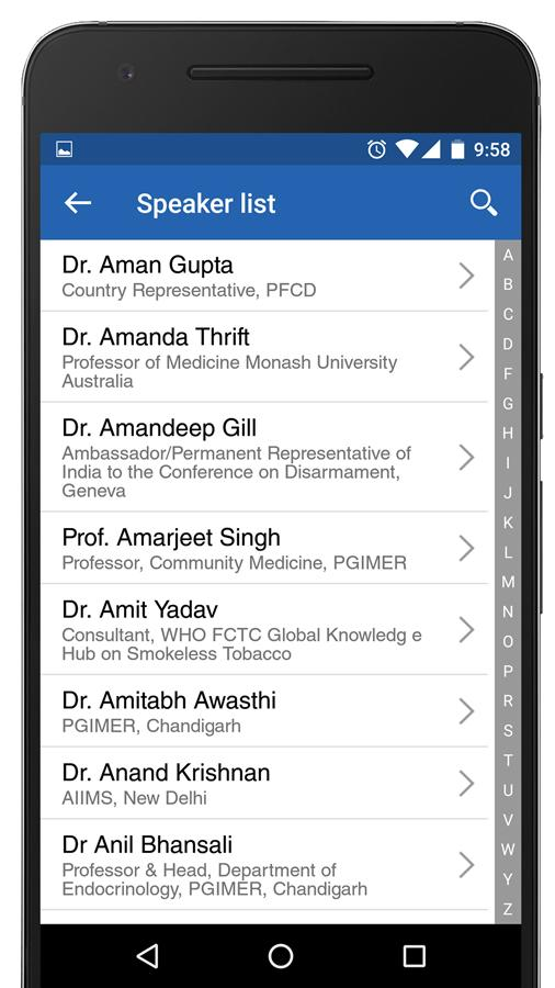 WNCD Congress 2017- screenshot