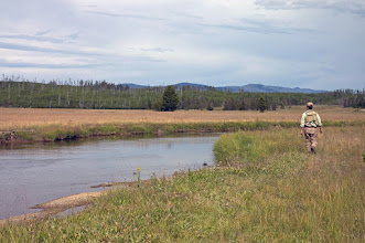 Photo: The Gibbon River- Mad River Outfitters Montana Trip