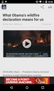 KREM 2 Spokane News- screenshot thumbnail