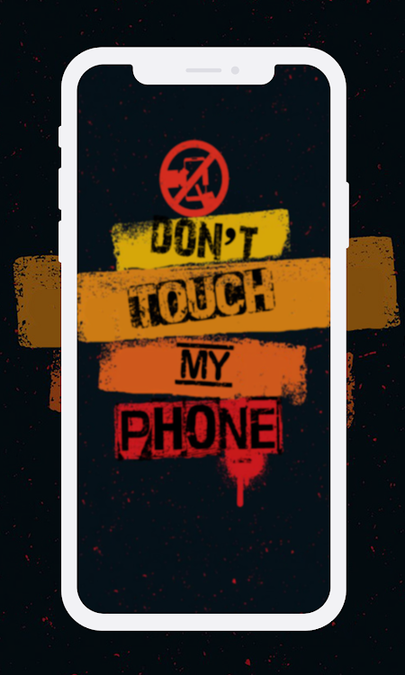 Dont Touch My Phone Wallpapers Hd Android Apps Appagg