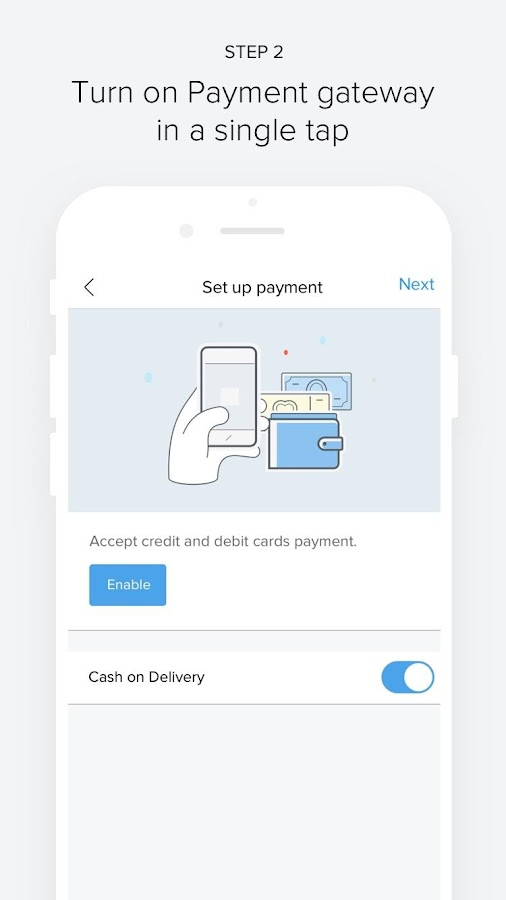 Shopmatic Go - Sell Online- screenshot
