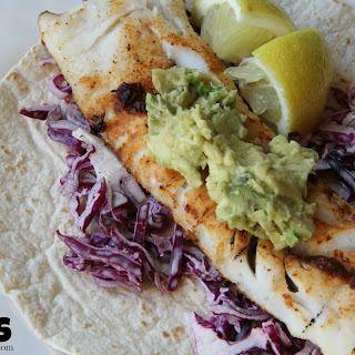 Chipotle Fish Tacos with Creamy Slaw