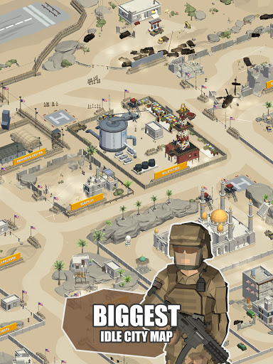 Idle Warzone 3d: Military Game - Army Tycoon 1.1 screenshots 8