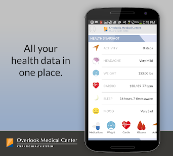 Be Well - Overlook Medical Ctr - screenshot thumbnail